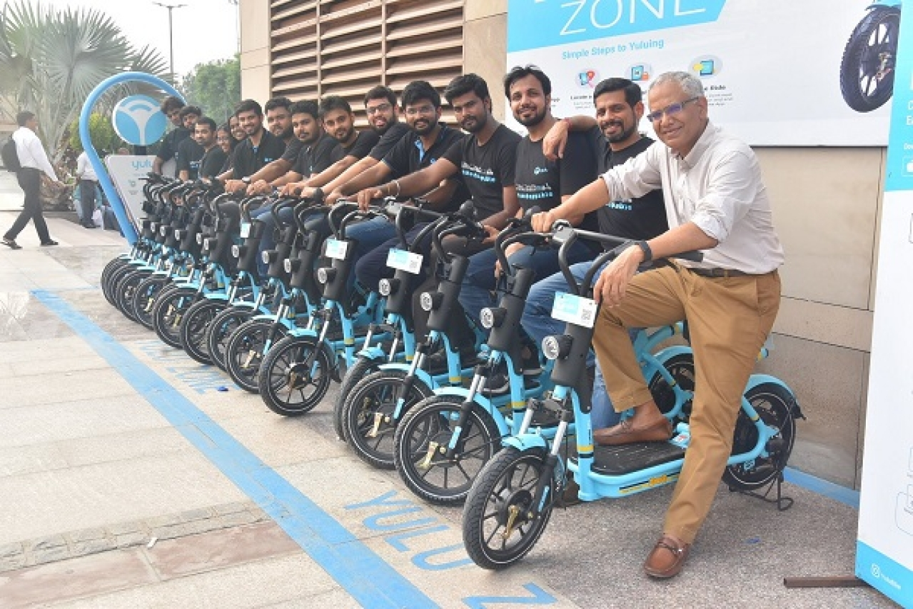 Image result for yulu electric bike