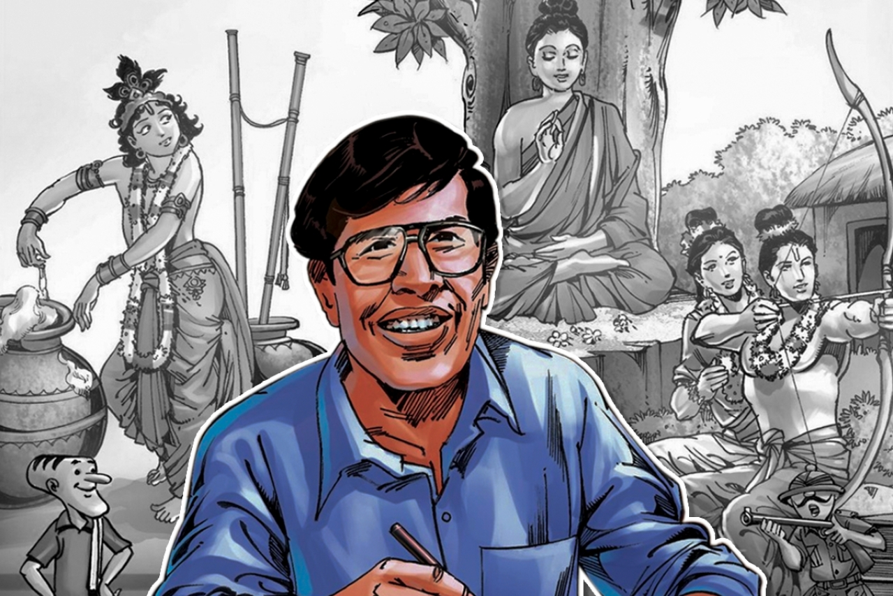 Anant Pai — the creator of Amar Chitra Katha — truly eternal pictorial stories.