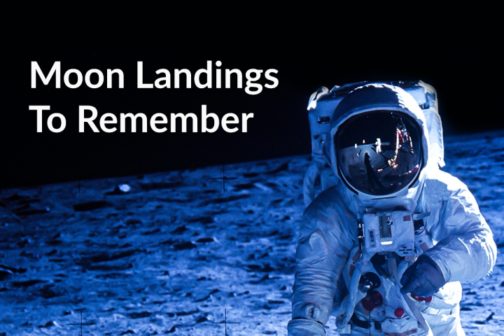 Brief Space History: Six Special Lunar Missions That Put A Lander On The Moon