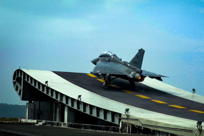 Indian Navy's Light Combat Aircraft: Love At First Trap!