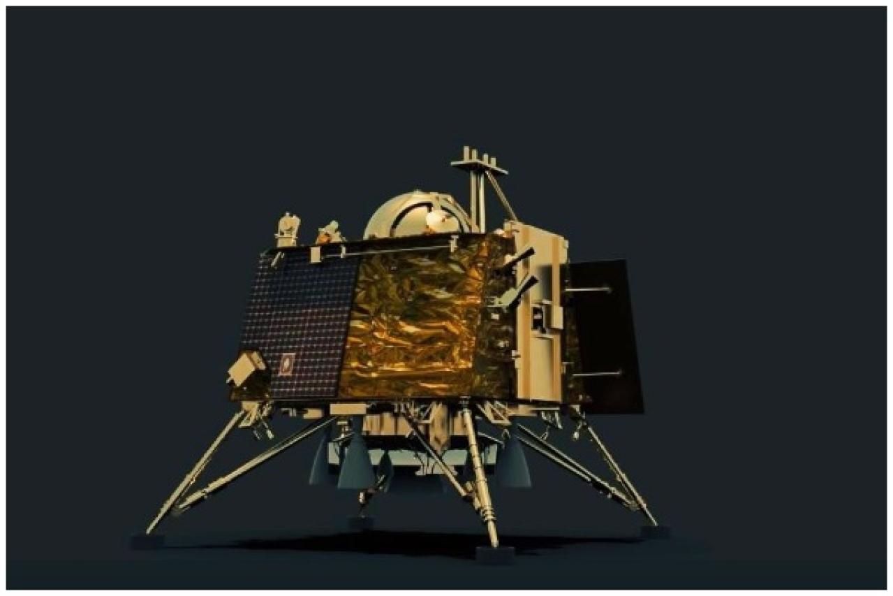 ISRO Locates Vikram Lander On Moon Surface Via Thermal
