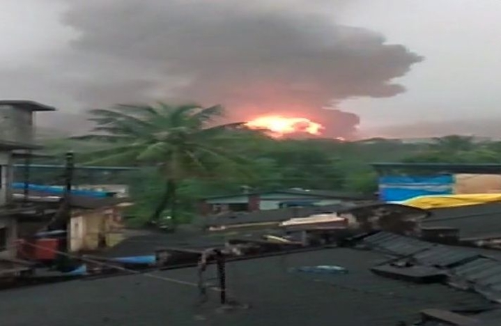 Massive Fire At ONGC Plant Near Mumbai: Two Injured, Gas Being Diverted To Hazira Plant In Gujarat