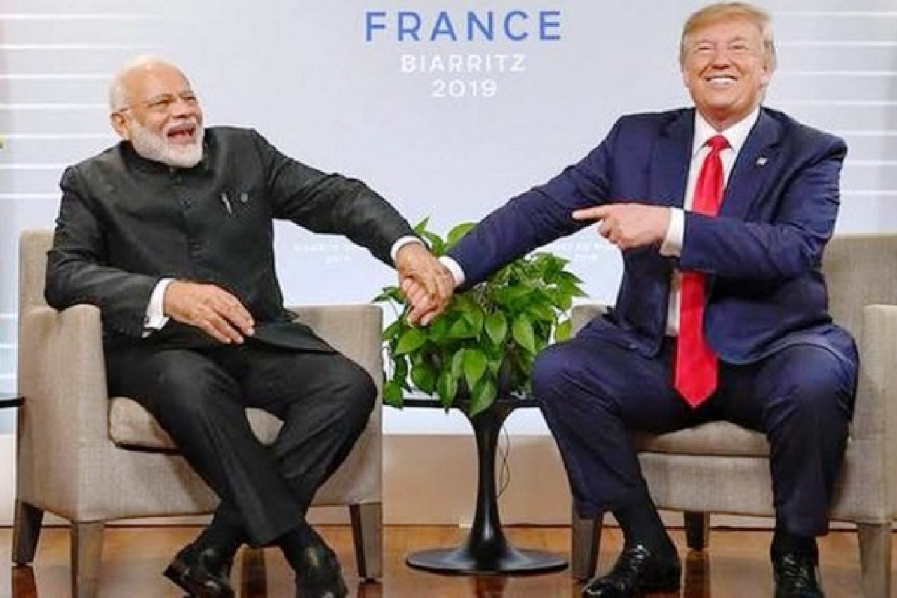 Trump Sharing Stage With Modi A big Slap On Imran Khan's Face: Trump's Former Campaign Adviser