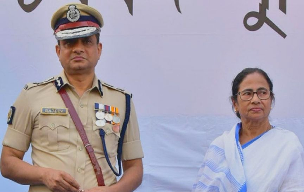 Mamata's Favourite Cop Rajeev Kumar Finally Surrenders After Absconding From CBI Authorities For 20 Days