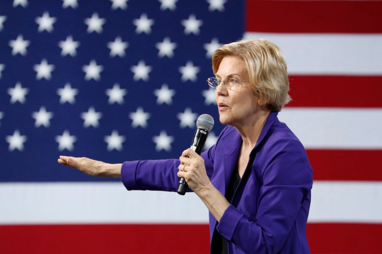 Senator Elizabeth Warren (Source: Wikimedia Commons)