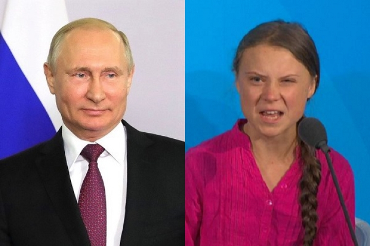 'Why Should Developing World Live In Poverty And Not Be Like Sweden': Putin Slams Greta Thunberg's Speech