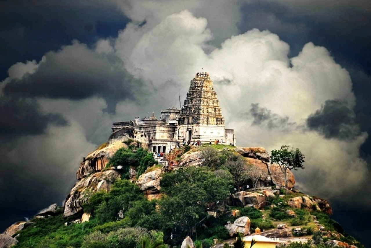 Yoga Narasimha Temple in Melukote (Pic via Twitter)