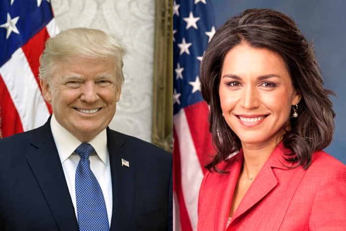 Trump Comes To Tulsi Gabbard's Defence: Slams 'Crooked Hillary' For Russia Remarks, Claims She Has Gone Crazy