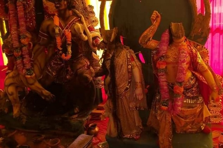 Arunachal Pradesh: Idols Vandalised And Decapitated In Attack On Durga Puja Pandal At Doimukh