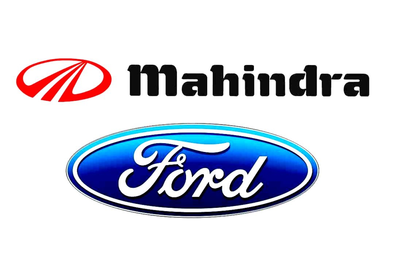 Ford forms joint venture with Mahindra and Mahindra.
