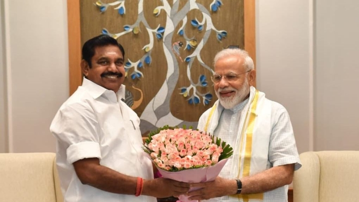 PM Modi Thanks  CM Palaniswami, Tamil Nadu Public For 'Unforgettable' Summit With Chinese President Xi