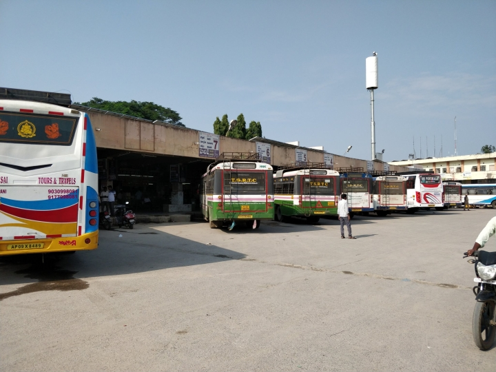 Telangana: 10,000 TSRTC Buses Grounded As Employees Go On Indefinite Strike; Government Terms It 'Illegal'