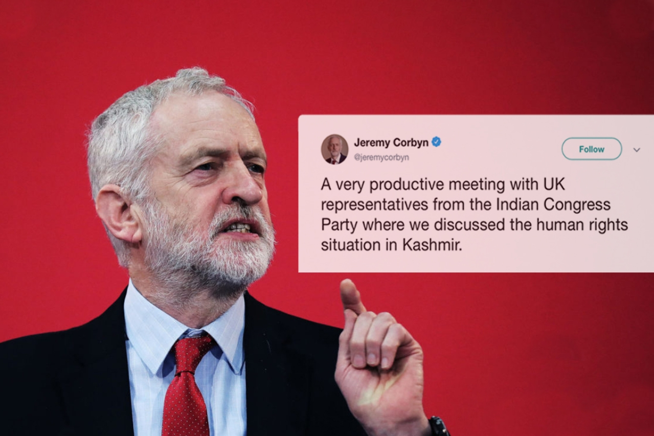 Jeremy Corbyn, leader of the UK's Labour Party.