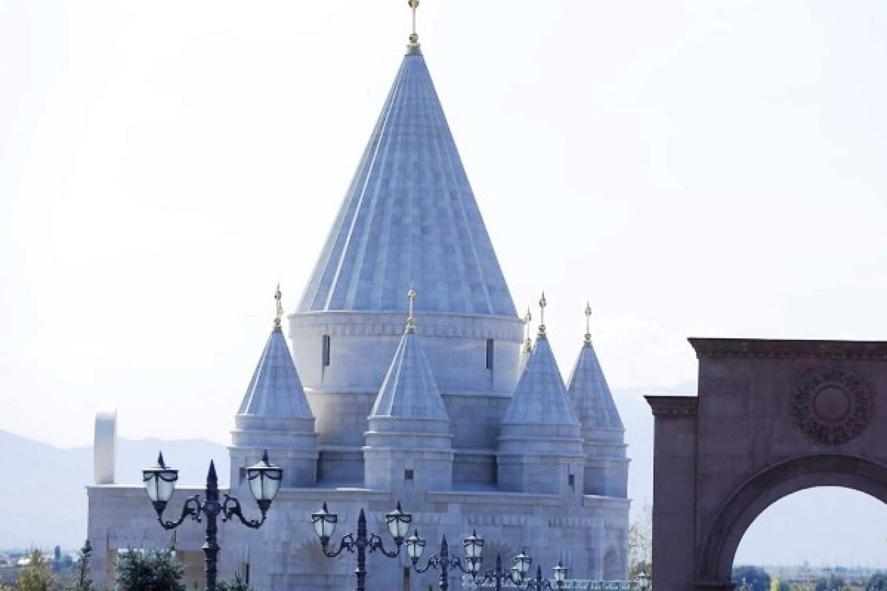 World's largest Yazidi temple built in Armenia (Source: @Armenia/Twitter)