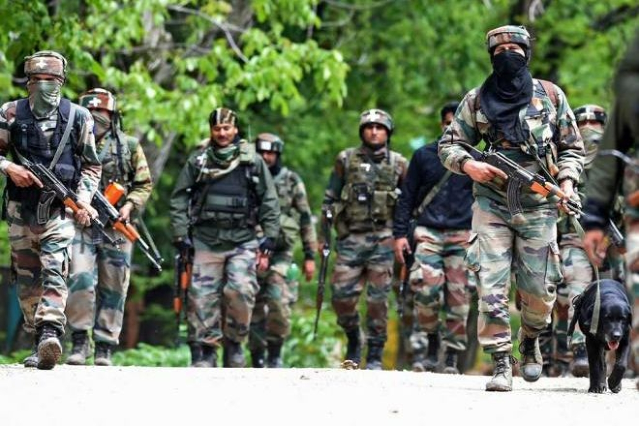 J&K: Hizbul Mujahideen Terrorist Killed In An Encounter With Security Forces In Awantipora
