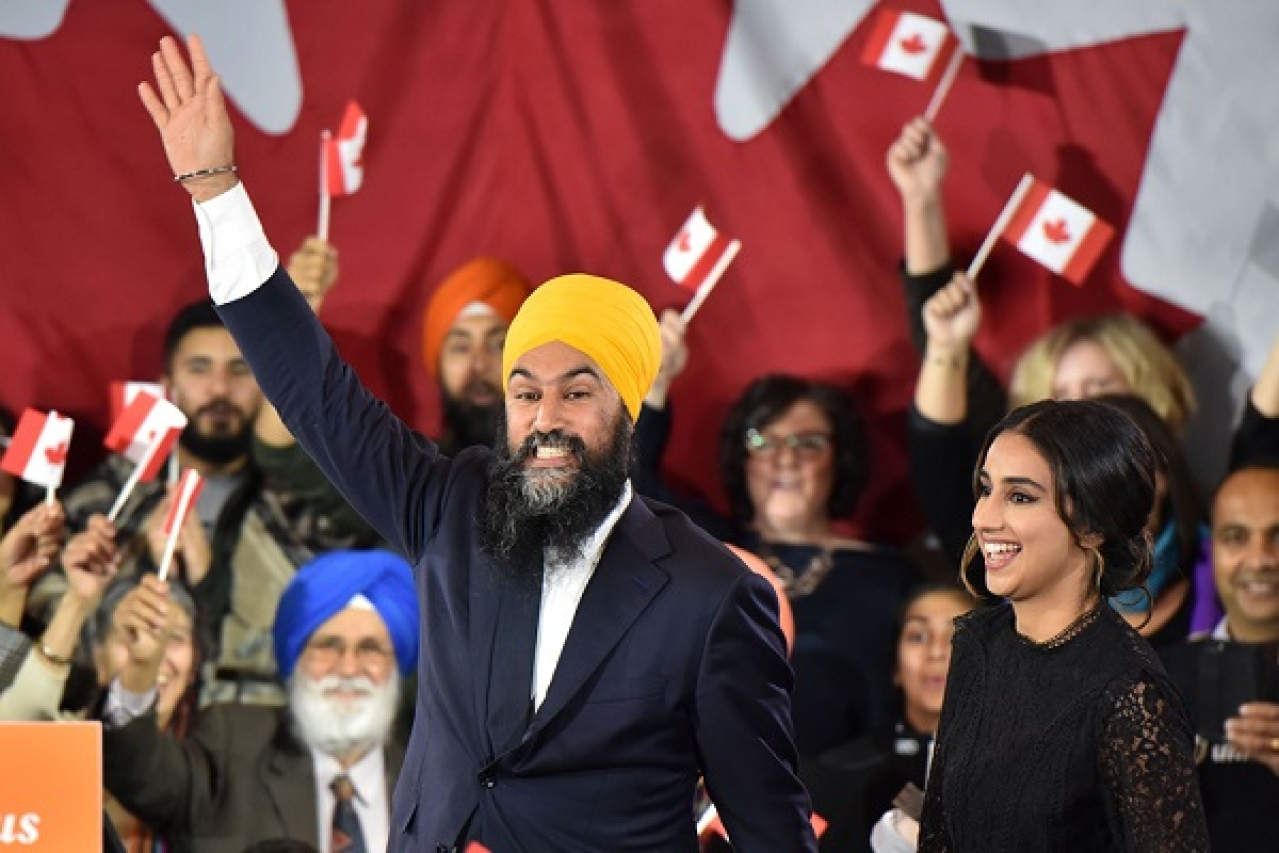Extreme-Left leader Jagmeet Singh of the New Democratic Party, who has 24 MPs, is considered close to Khalistanis.