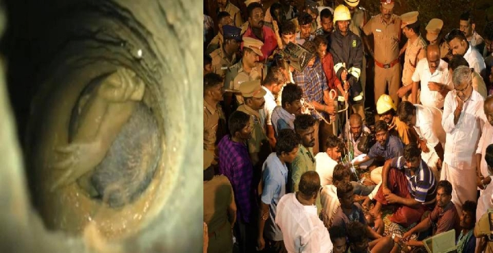 Tamil Nadu: Rescue Efforts Continue On Third Day To Save The 2-Year-Old Boy Who Fell Into 100 Feet Borewell On Friday