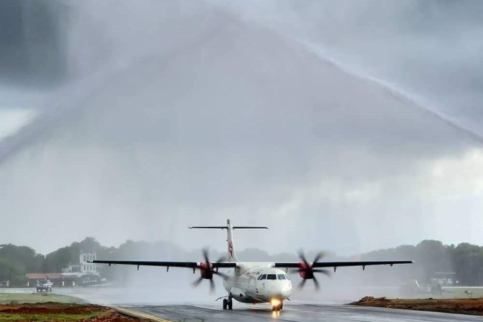 Sri Lanka's Jaffna International Airport Inaugurated With Alliance Air's Maiden International Flight From Chennai