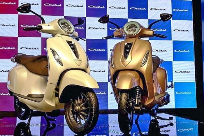 Iconic Bajaj Chetak Scooter Set To Hit Indian Roads After 2005; This Time In An Electric Avatar