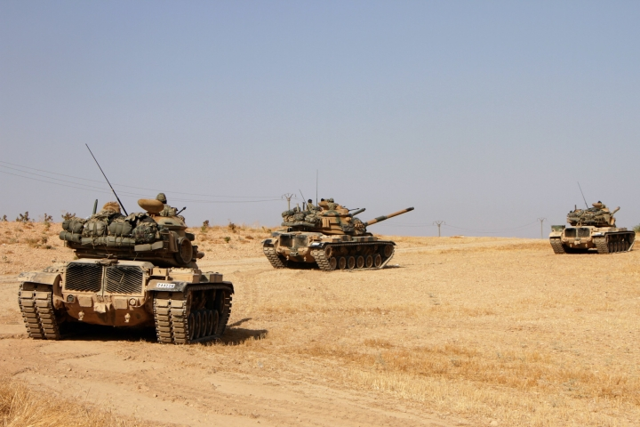 Turkish Military Offensive Against Kurdish Forces Intensifies As It Takes Control Of Two Northern Syrian Towns