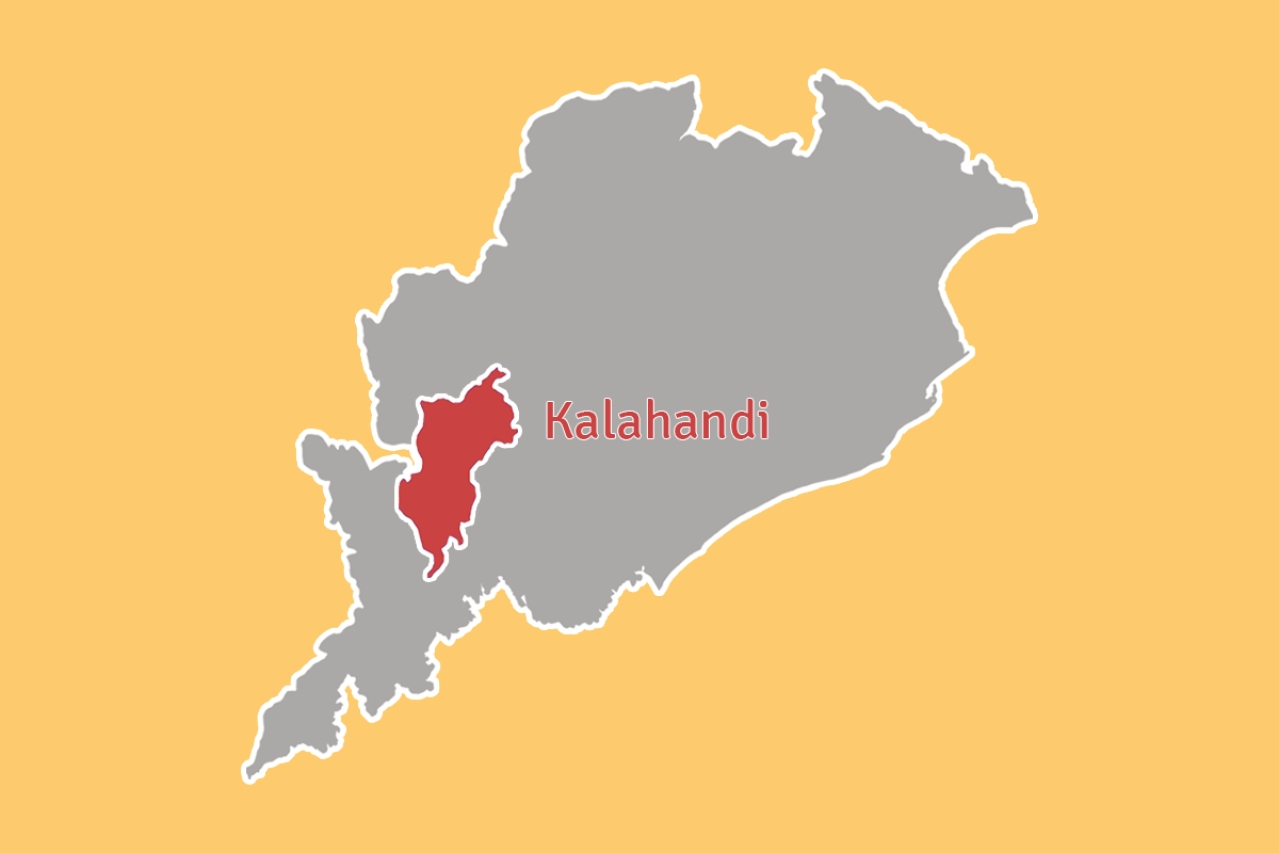 Kalahandi district in Odisha.