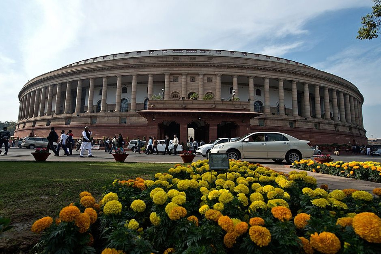 The Parliament building in Delhi. (PRAKASH SINGH/AFP/GettyImages)