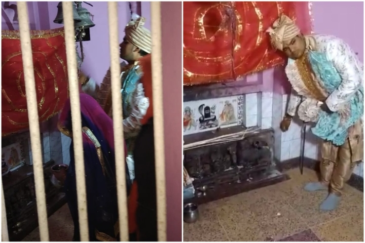 UP: In Same Temple Where Dalits Were Stopped, Dalit Groom Offers Puja; Family Says Won't Convert