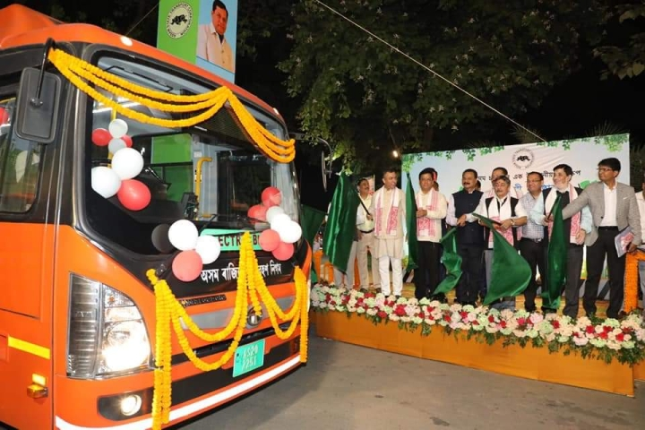 Green Mobility In The North-East: Guwahati Becomes First City In Region To Get Electric Buses Under FAME Scheme