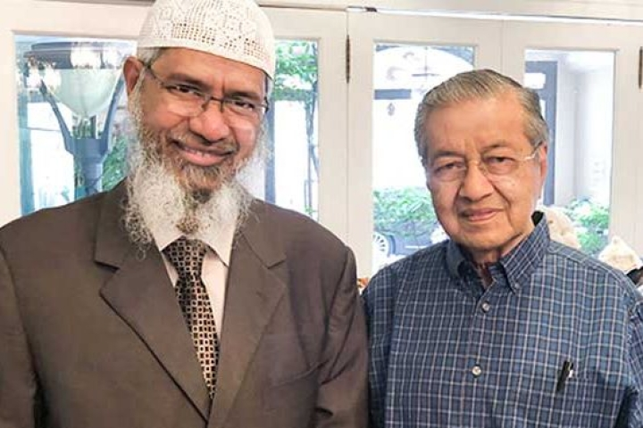 Malaysian Varsity Terms Fugitive Zakir Naik As 'Icon Of Islamic World', Leaves Malaysians Divided