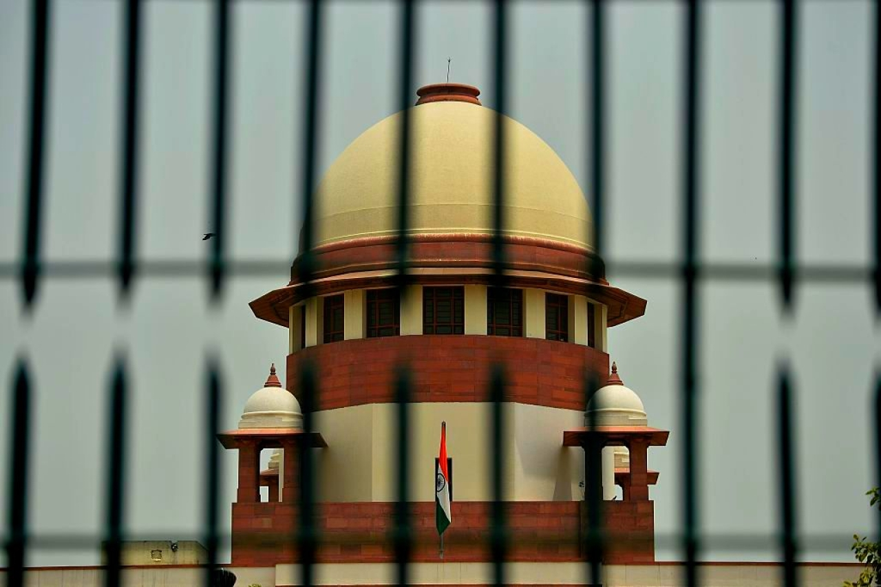 The Supreme Court of India. (SAJAD HUSSAIN/AFP/Getty Images)
