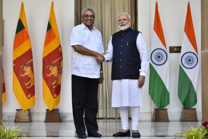 India Offers Sri Lanka $400 Million To Develop Infrastructure On Sri Lankan President Rajapaksa's Maiden Visit
