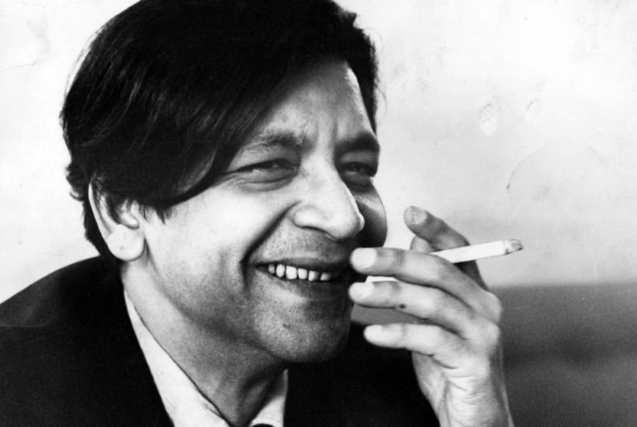V S Naipaul (Source: @AdviceToWriters/Twitter)