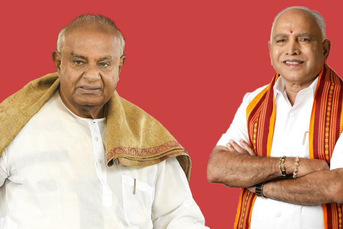 Karnataka Bypolls: Deve Gowda Family Emerges Biggest Loser As BJP Storms Into Family Stronghold
