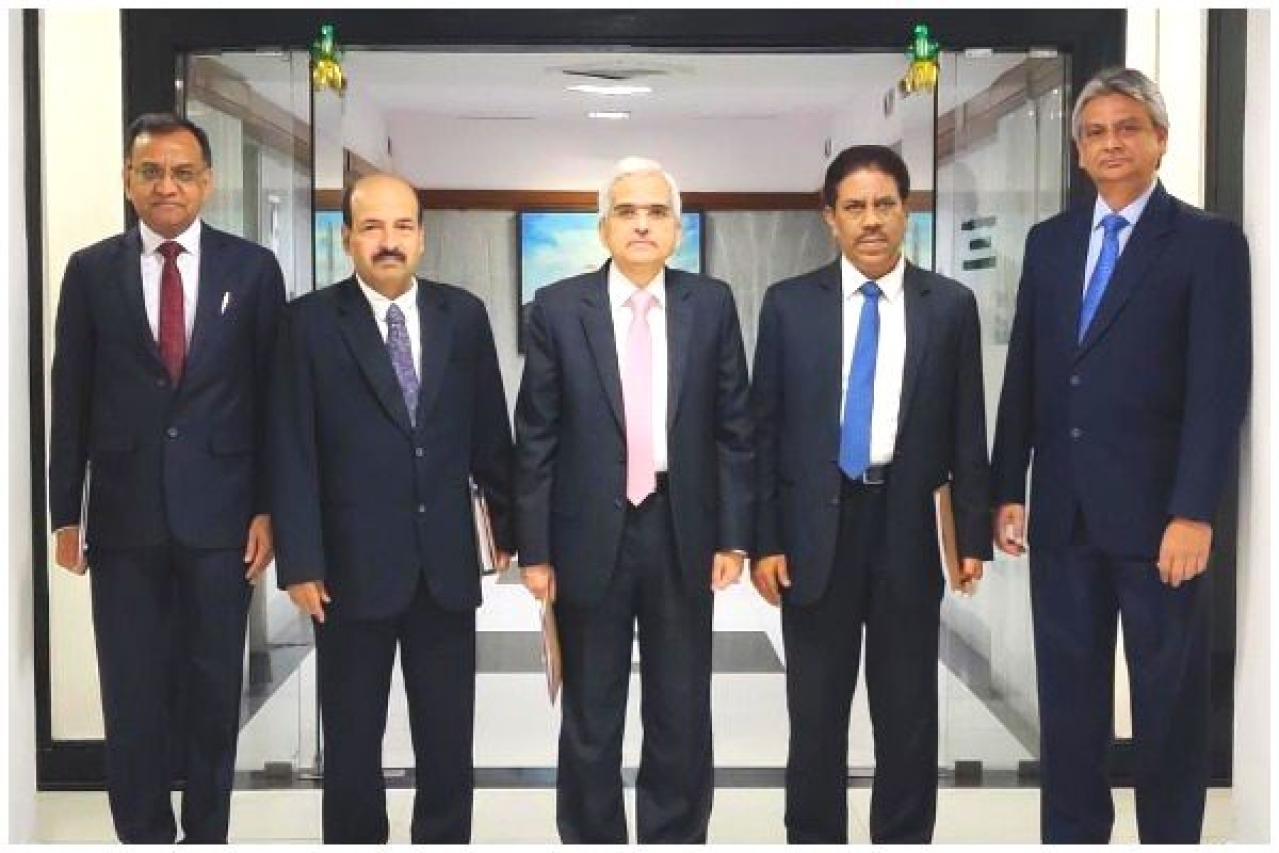 The Monetary Policy Committee members. (RBI/Twitter)