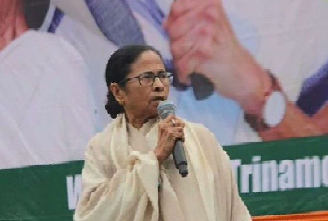 West Bengal Chief Minister Mamata Banerjee (Source: Twitter)