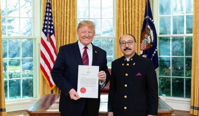 Indian Envoy To US Harsh Vardhan Shringla Set To Be The New Foreign Secretary After Vijay Gokhale Retires Next Month