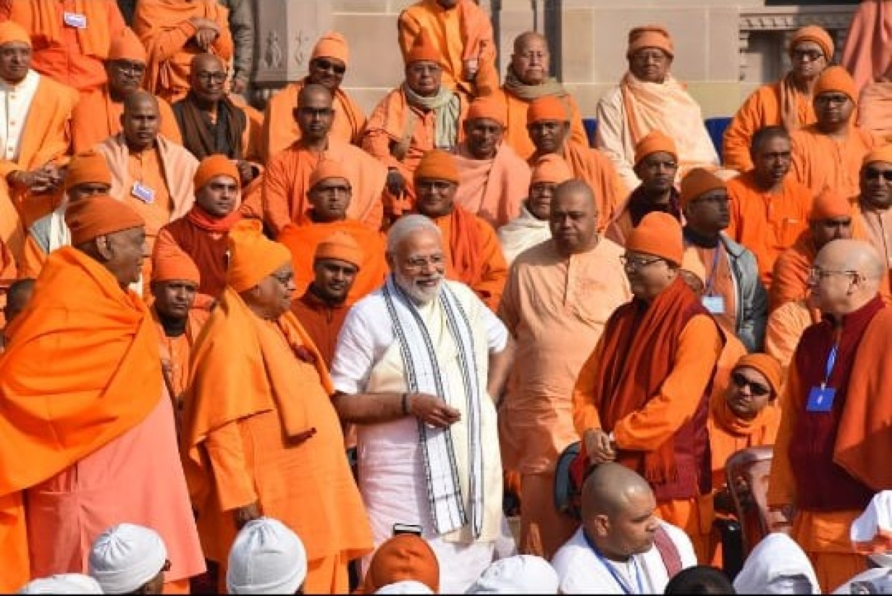 In Pictures: PM Modi At Belur Math And His Tryst With The Ramakrishna Mission
