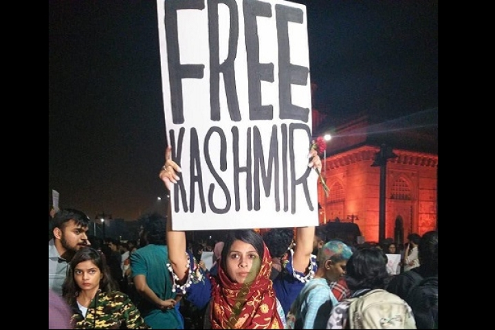 'Free Kashmir' Poster Seen At Gateway Of India In Shiv Sena Ruled Mumbai; Sanjay Raut Gives It A Big Spin