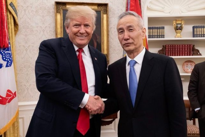 Chinese Vice Premier Liu He To Visit Washington Next Week To Sign US-China Phase One Trade Deal