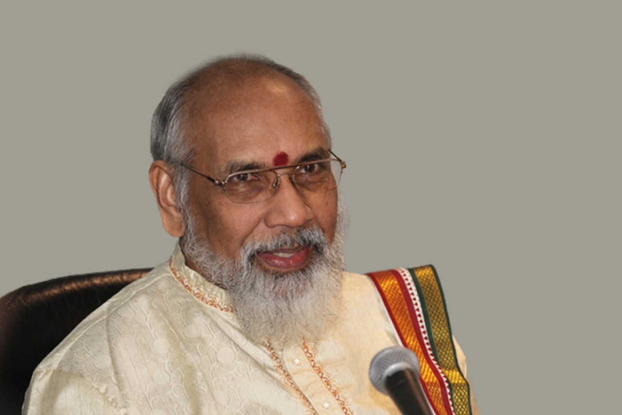 C V Vigneswaran, former chief minister of Sri Lanka's Northern Province.