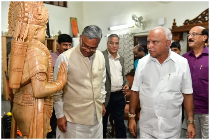 Trivendra Singh Rawat Reaches Out To BSY For Strengthening Uttarakhand-Karnataka Cultural Exchange Involving School Children