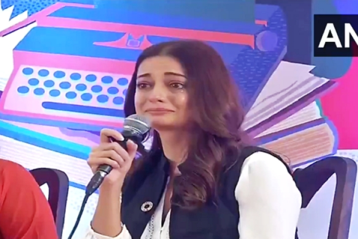 Watch: Actor Dia Mirza Starts Crying At 'Climate Emergency' Event, Twitter Users Call Out Her Hypocrisy