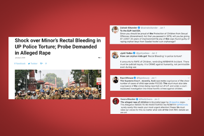 Exclusive: FIR For 'False Reporting' After Media And Twitter Users Cried 'Rape' By Cops In Saadat Madrassa During Anti-CAA Stir In UP