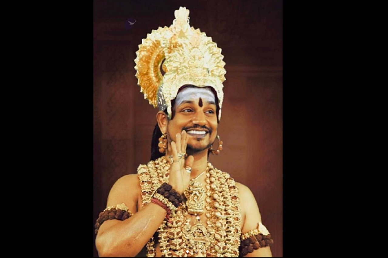 Self-styled godman Nithyananda (Source: Twitter)