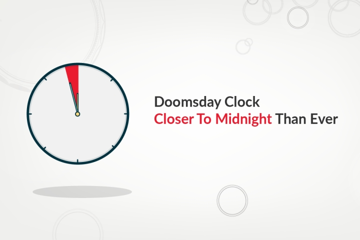 '100 Seconds To Midnight': The Doomsday Clock, Explained in 7 Minutes