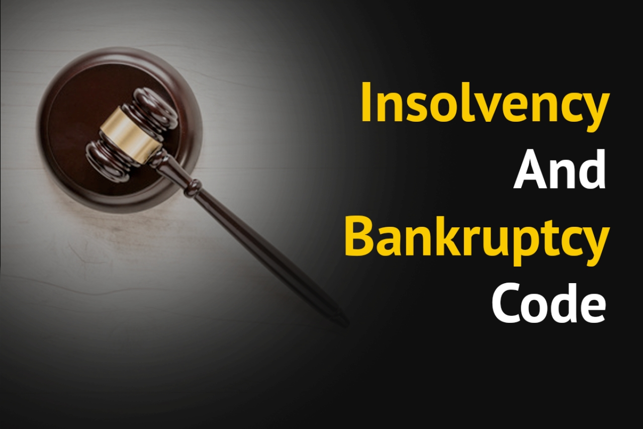 Insolvency and Bankruptcy Code.