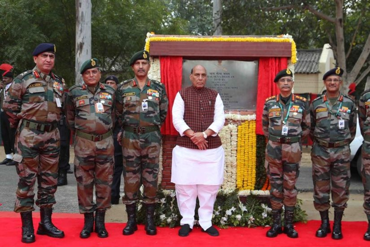 Image result for Facts Box: Thal Sena Bhawan, the new Army Headquarters