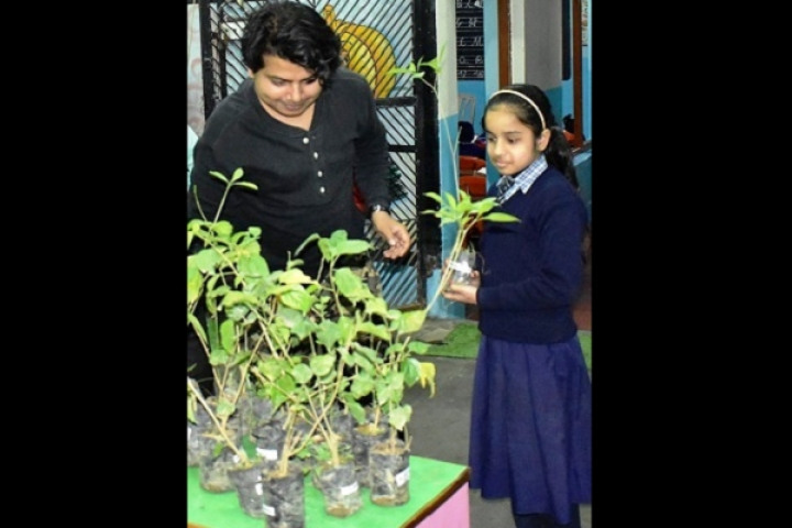 Watch: Activist Donates Tree Saplings To Students In Memory Of Pulwama Terror Attack Martyrs
