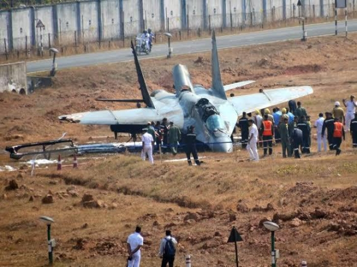 MiG-29K Aircraft Crashes In Goa During Routine Training, Pilot Ejects Safely: Tells Indian Navy