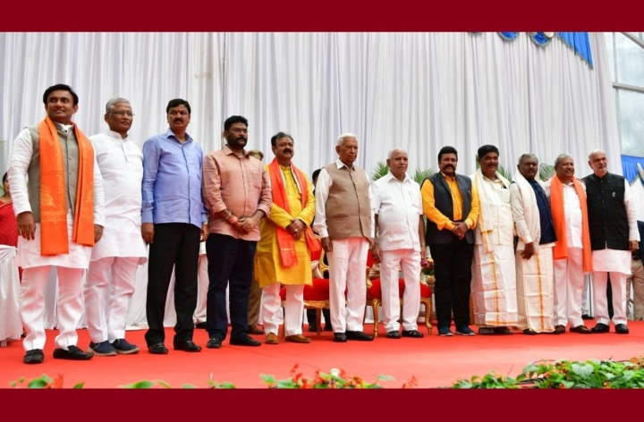 Karnataka Chief Minister Expands Cabinet But Keeps All Key Portfolios With Himself